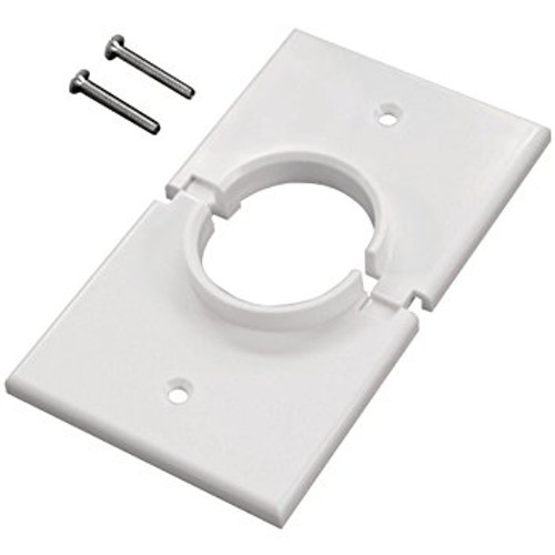 Cable  Pass-through  Wall Plate  1 Gang