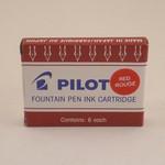 Pilot Cartridges Red