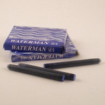 Waterman Cartridges (Serenity) Florida Blue