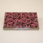 """Roses & Teardrops"" Card Case"