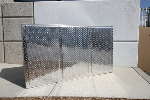 Build Your Own Diamond Plate Base Cabinet