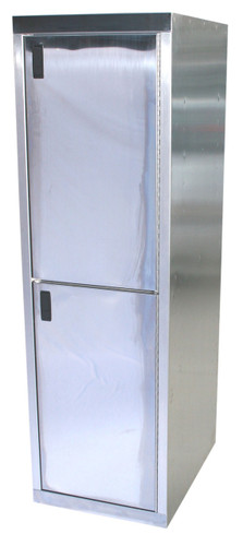 Stainless Steel Double Stack Wall Cabinet