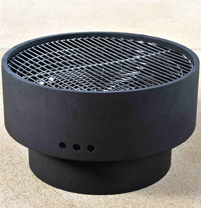 Revolver Fire Pit with Cook Top