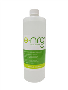 E-NRG BioEthanol Fuel  8 Gallons. (Quart Bottles)