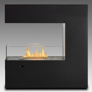 Freestanding Vent Free Fireplace