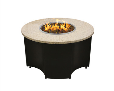"Inspiration 42"" Round Propane Fire Table"