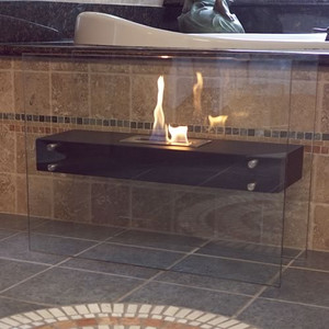 La Strada Freestanding Fireplace