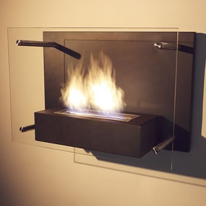 Radia Wall Mount Fireplace