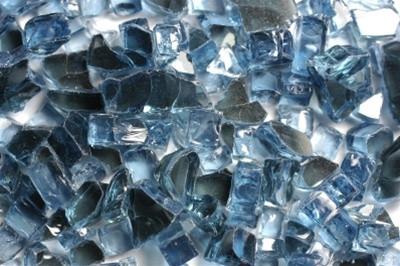 FireGlass Pacific Blue Reflective