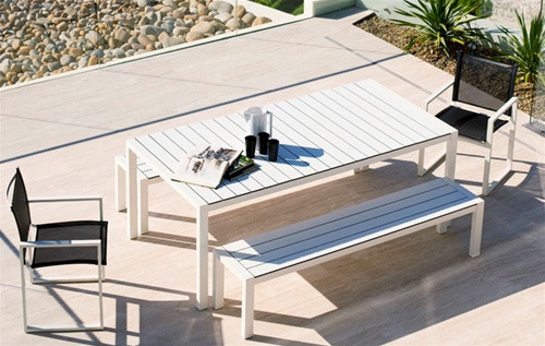 Lovely Harbour Outdoor Piano Bench Seat