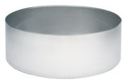 Round Stainless Steel Fountain Basin
