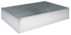 Square Stainless Steel Fountain Basin