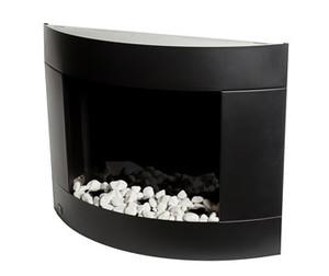 "Diamond 31"" stainless steel wall mount fireplace"