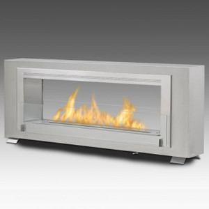 Eco-Feu Santa Cruz Modern wall Mount Vent Free Fireplace