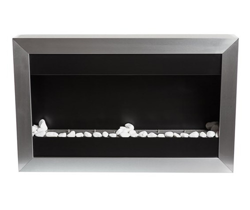 34.5 Inch Vent Free Wall Mount Fireplace