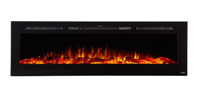 Touchstone Sideline 72-Inch Electric Fireplace