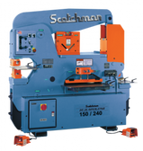 Scotchman Model DO150/240-24M-1, 150-Ton Dual-Operator Hydraulic Ironworker (1ph)