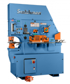 Scotchman Model 8510-24M-3, 85-Ton Hydraulic Ironworker (3ph)