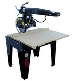 """Original Saw Co. 12"""" Radial Arm Saw, Contractor Series, 3hp/1ph"""