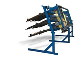 JLT 12 in Miter Buddy System Includes: (30) 40 in Clamps on 5 Levels 12 in Wide Panel Clamp and 26 in x 62 in Maximum Capacity Pneumatic Single Miter Door Clamp with Dial Control System