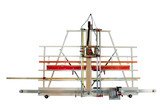 Safety Speed Mfg SR5 Vertical Panel Saw & Router: Configured for V-Grooving Aluminum Composite Panels