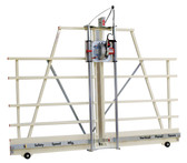 Safety Speed Mfg H6 Vertical Panel Saw: 3 1/4 Hp, 120V, 15 amps