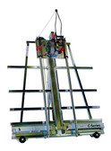 Safety Speed Mfg C4 Vertical Panel Saw: 3 1/4 Hp, 120V, 15 amps