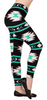 Aztec Azure Leggings ULTRA SOFT and stylishly comfortable for any occasion!