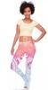 These mandala yoga pants will make you feel so good in class! So fun!
