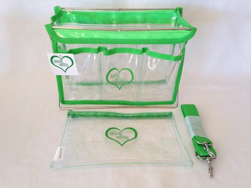 Handy Caddy Extra Green with Zippered Bag accessory