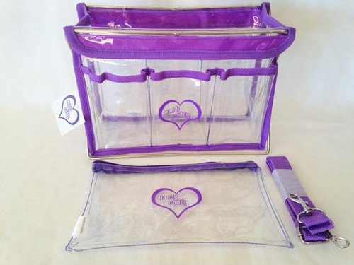 Handy Caddy Extra Purple with Zippered Bag accessory