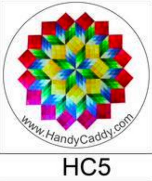 Diamond Rainbow Quilt Handy Pop with Clip