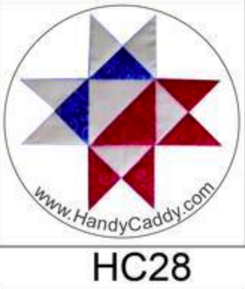 Red White & Blue Star Handy Pop with Clip