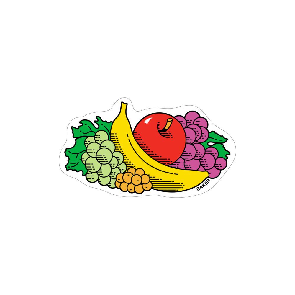 Baker Skateboard Sticker Fruit Booter 3