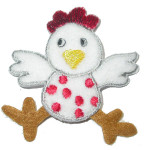 Iron On Patch Applique - Chicken