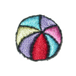 Iron On Patch Applique - Beach Ball
