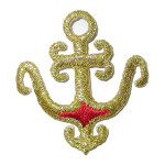 Iron On Patch Applique - Anchor Arabian Style