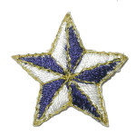 Iron On Patch Applique - Nautical Star.