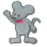 Iron On Patch Applique - Mouse 5221