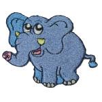 Iron On Patch Applique - Elephant.