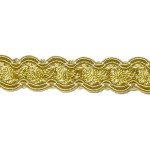 "Braid 1/2"" Gold Wrights 18 Yards"