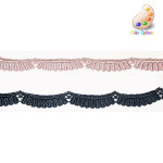 "Venise Lace 1/2"" Scalloped *Colors* 10 Yards"