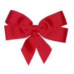 "Ribbon Bow 4"" Red - 5 Pack"