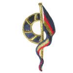 Iron On Patch Applique - Nautical Flag