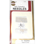 Sewing Needles Self Threading 12 Pack