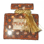 Iron On Patch Applique - Fancy Scent Bottle 6983