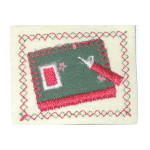 Iron On Patch Applique - School Book Patch