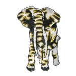 Iron On Patch Applique - Elephant WBG Medium