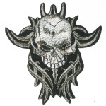 Iron On Patch Applique - Skull Patch