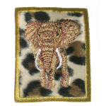 Iron On Patch Applique - Elephant Patch